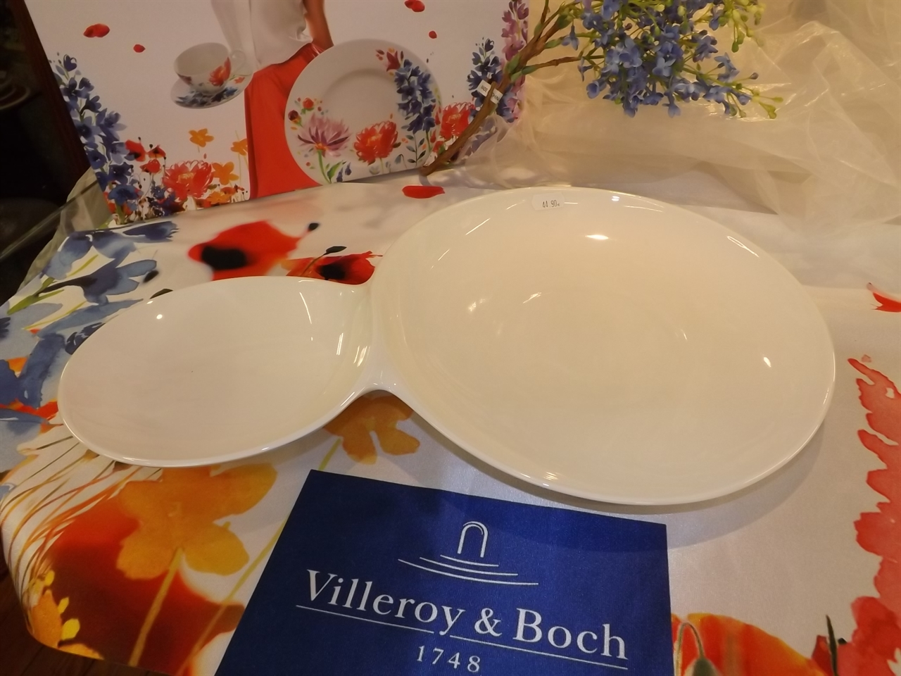 Villeroy & Boch mod. TWO IN ONE