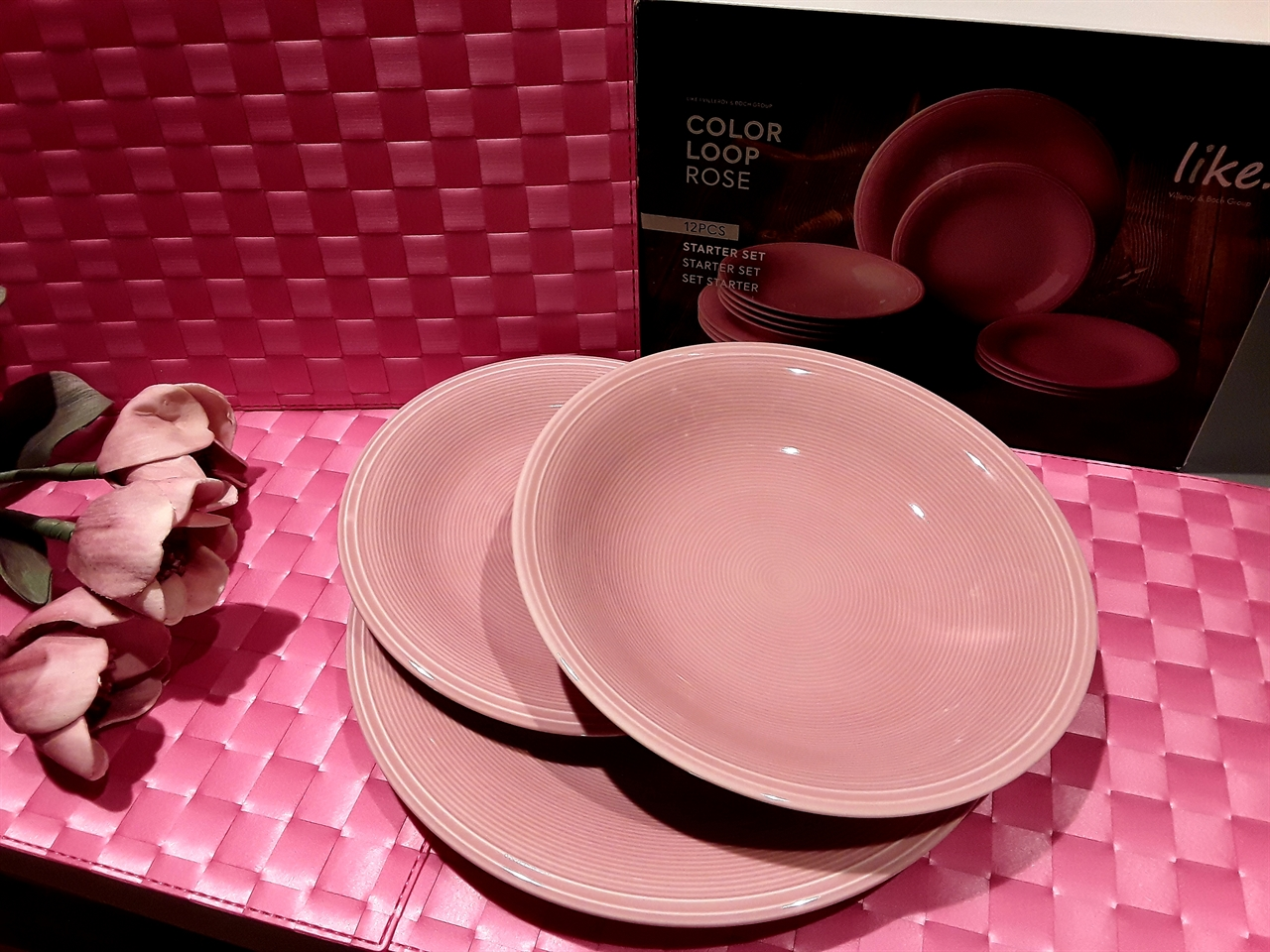 Villeroy & Boch mod. COLOR LOOP ROSE