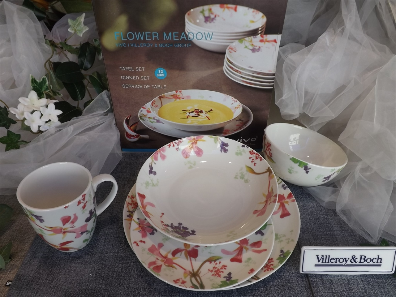 Villeroy & Boch mod. FLOWER MEADOW